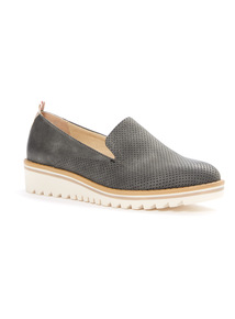 Sole Comfort Perforated Slip On Shoes