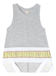 Grey Girl Squad Dance Vest (3-14 years)
