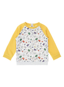 Yellow Sweatshirt (0-24 months)