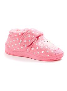 Pink Peppa Pig Slippers