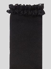 Lace Trim Socks 5 Pack