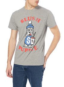 Online Exclusive Grey License Slush Puppy Tee