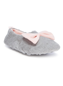 Faux Fur Full Slipper