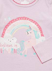 Pink Unicorn Friends Top and Leggings Set (0-24 months)