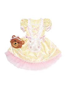 Girls Yellow Goldilocks Costume (3-10 years)