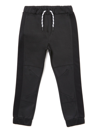 Black Active Mesh Panel Joggers (3-14 years)