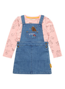 Multicoloured Gruffalo Pinny & Tee Set (0-24 months)