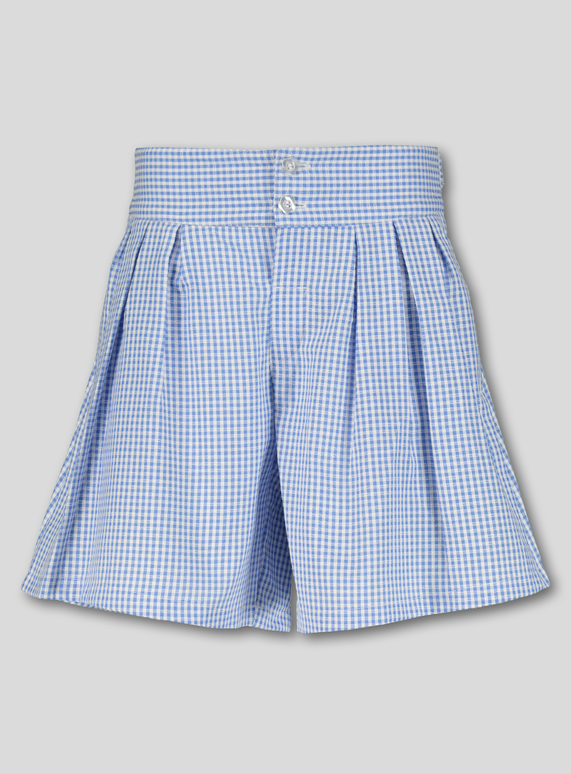 590f13764 Kids Blue Gingham School Culottes (3-14 years) | Tu clothing