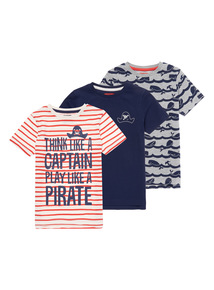 Seaside Tops 3 Pack (9 months - 6 years)