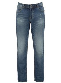 Sandwash Blue Denim Slim Leg Jeans