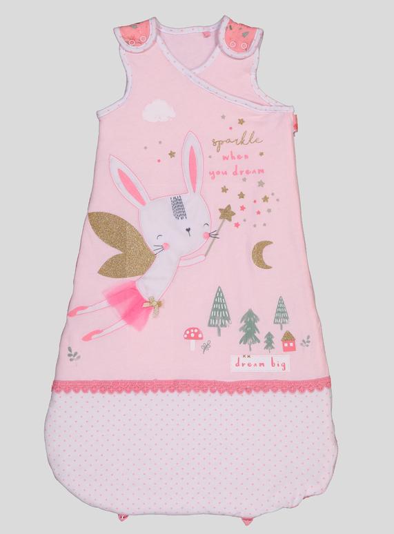 2addbf62c52e SKU  AW18 PH2 GIRLS FAIRY BUNNY SLEEPING BAG Pink