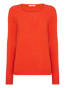 Square Neck Jumper