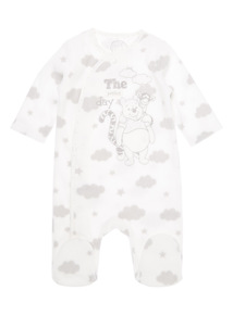 Boys Cream Disney All In One (0-24 months)