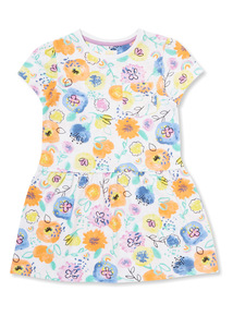 Multicoloured Sunshine and Smiles Jersey Dress (9 months-6 years)