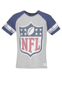 NFL Grey Raglan Sleeve T-Shirt