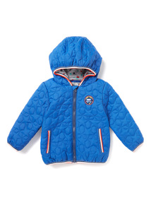 Blue Quilted Jacket (0-24 months)