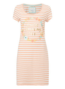 Coral 'Amazing Nan' Slogan Nightdress