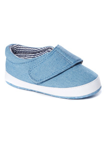 Blue Smart Trainers (0-18 months)