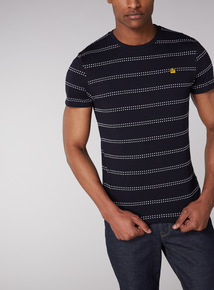 Admiral Navy Striped T-Shirt