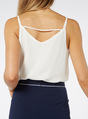 Thumbnail of SKU: DOUBLE STRAP CAMI:Cream