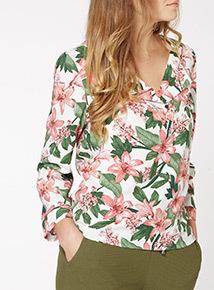 Multicoloured Floral Shirt