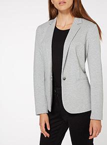 Grey Marl Jacket