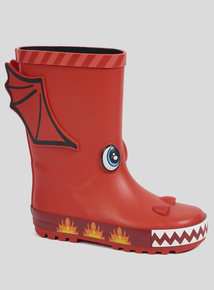 Red Dragon Wellies (Infant 6-4)