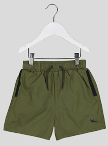 Khaki Swim Shorts (1.5-14 years)