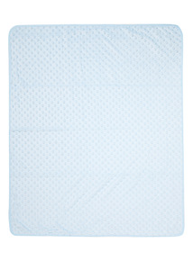 Blue Velboa Blanket