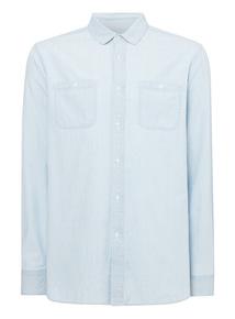 Blue Light Denim Shirt