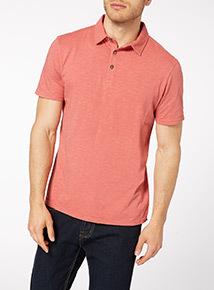 Orange Garment Dye Polo