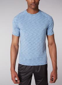 Admiral Blue Space Dye T-Shirt