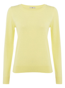 Yellow Ripple Jumper