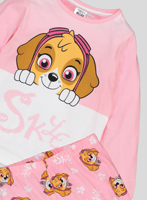 d8c039abf0 Out of stock Paw Patrol Pink Long-Sleeved Pyjamas (18 Months - 7 Years)