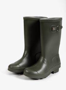 Khaki Green Wellie Boots