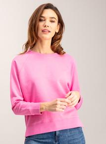 Pink Boxy Sweatshirt