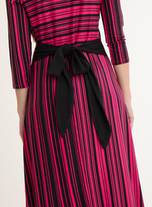 GFW Online Exclusive Pink & Black Jersey Dress