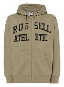 Russell Athletic Khaki Hoodie