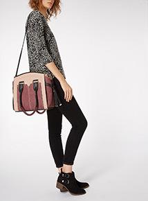 Textured Panel Bag