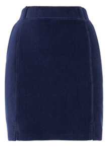 Navy Pocket Skirt