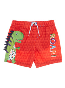 Boys Multicoloured Roar Shorts (9 months - 5 years)