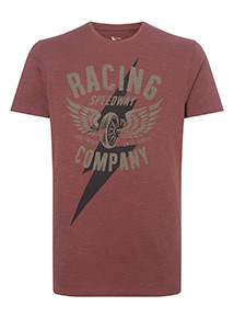 Dark Red Racing T-Shirt