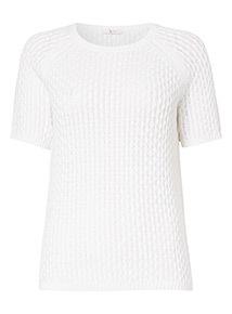 Honeycomb Stitched T-Shirt