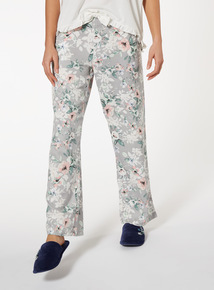 Floral Woven Pyjama Bottoms