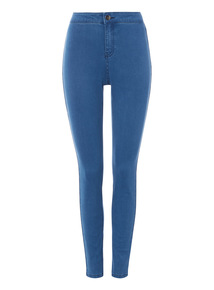 Mid Denim High Waist Skinny Jean