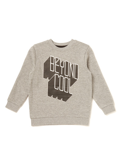 Grey Beyond Cool Jumper (3-14 years)