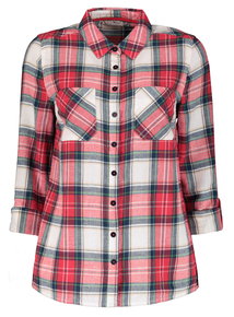 Multicoloured Pale Check Shirt