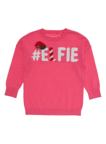 Pink Elfie Jumper (3-14 years)