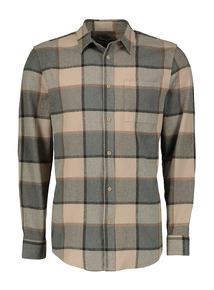 Multicoloured Check Regular Fit Shirt