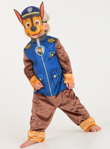 Online Exclusive Paw Patrol Chase Blue Fancy Dress Costume (1-8 Years)